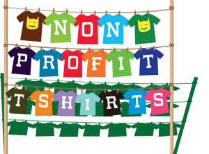 Custom t shirts for non profits discounted screen printing for T shirt printing for non profit organizations