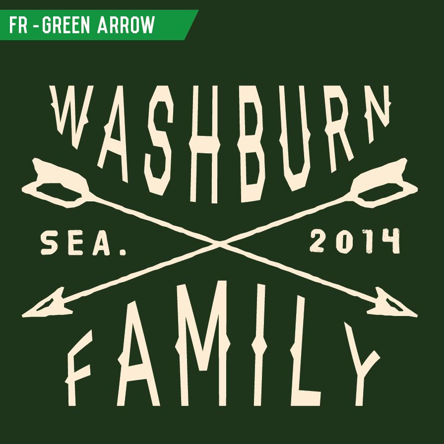 Design t shirt for family reunion - Fr_greenarrow