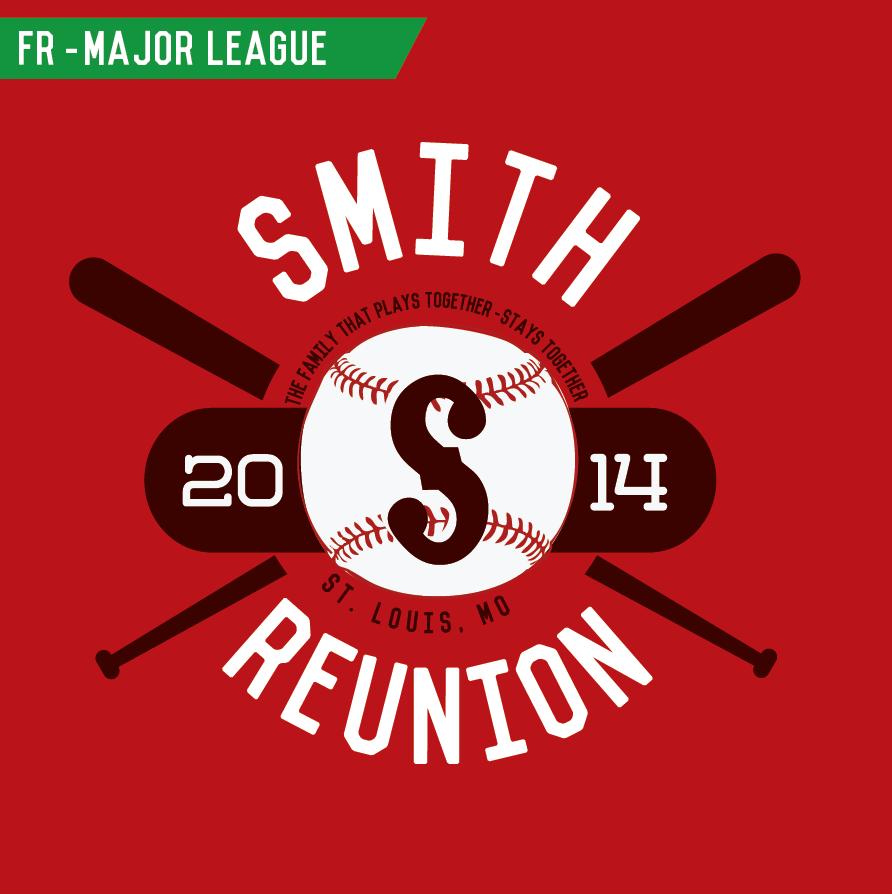 Design tshirt reunion - Fr_majorleague