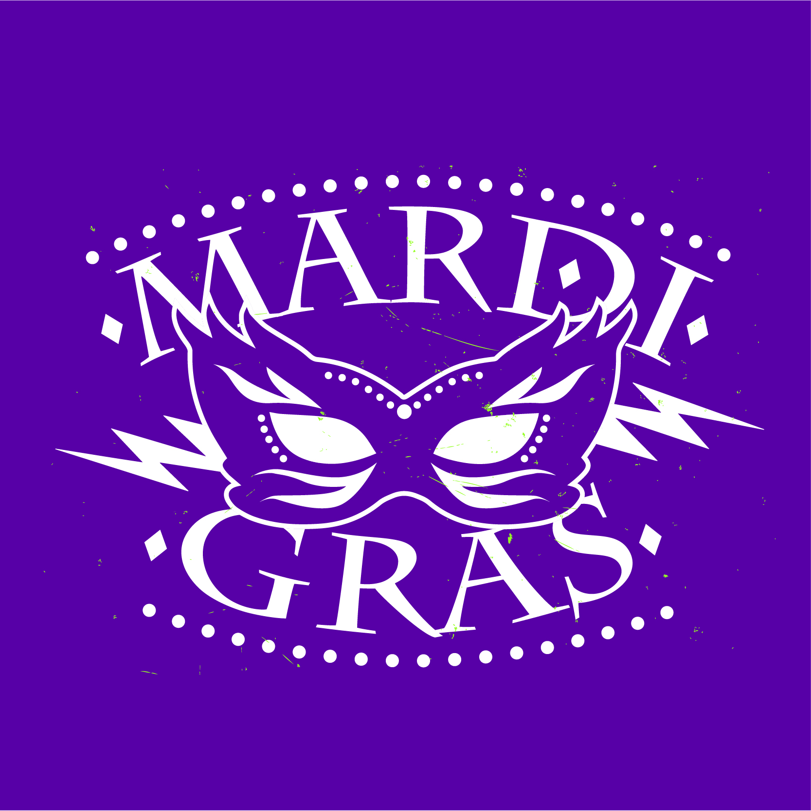 Mardi Gras T Shirts Tiny Little Monster