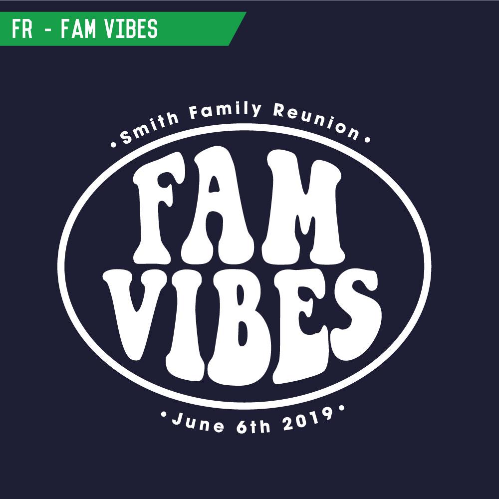 Family Reunion T Shirt Screen Printing Designs
